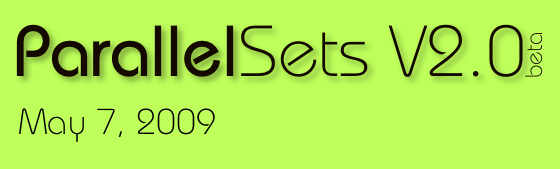 Parallel Sets Announcement