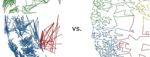 ZIPScribbleMap vs. TPCMap