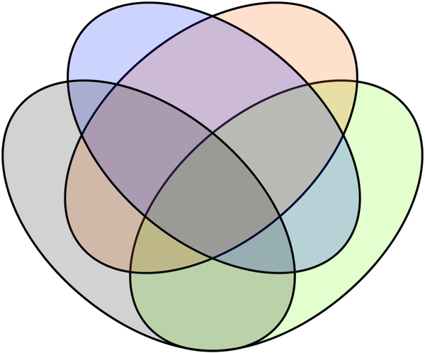The image below shows a version of the venn diagram for six sets not