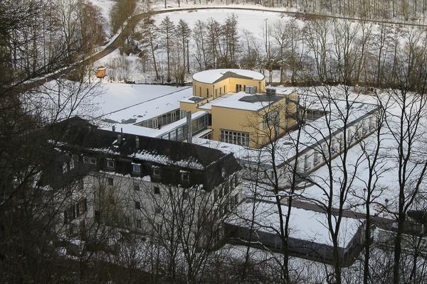 Schloß Dagstuhl in the snow