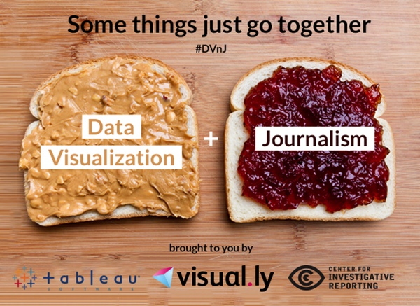 Data Visualization and Journalism Event in San Francisco on September 26