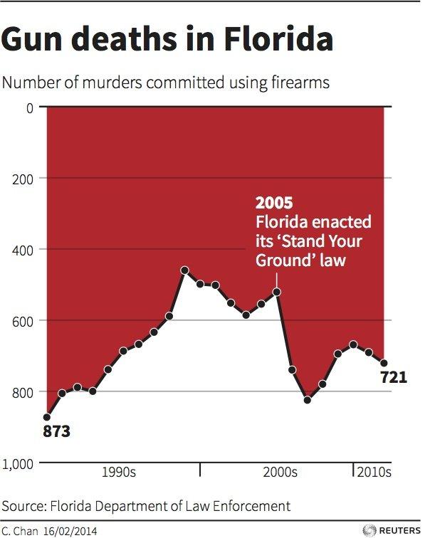 Christine Chan, Florida Gun Deaths