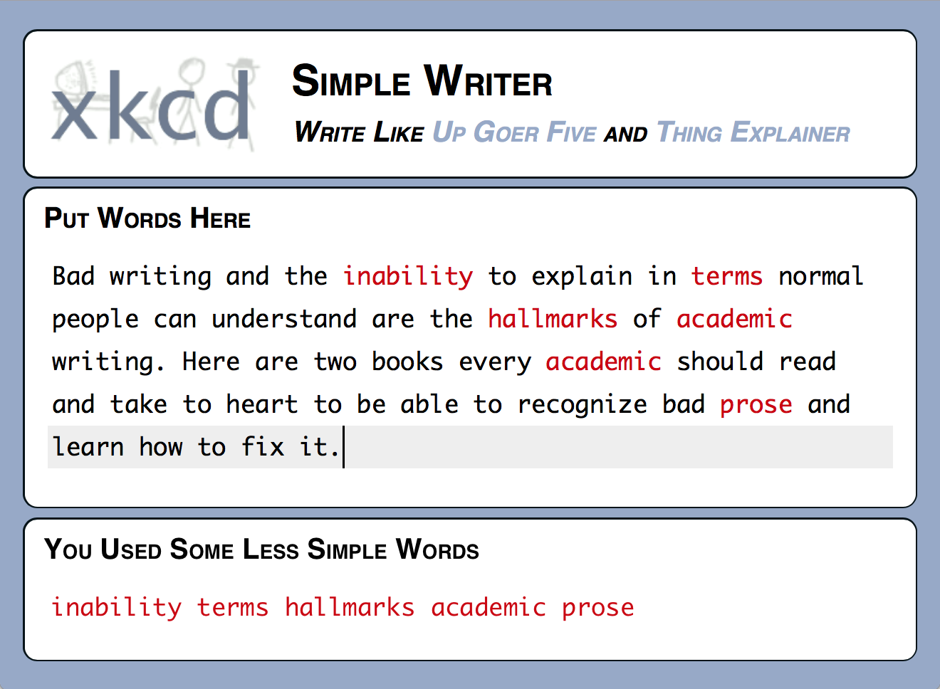 simple-writer