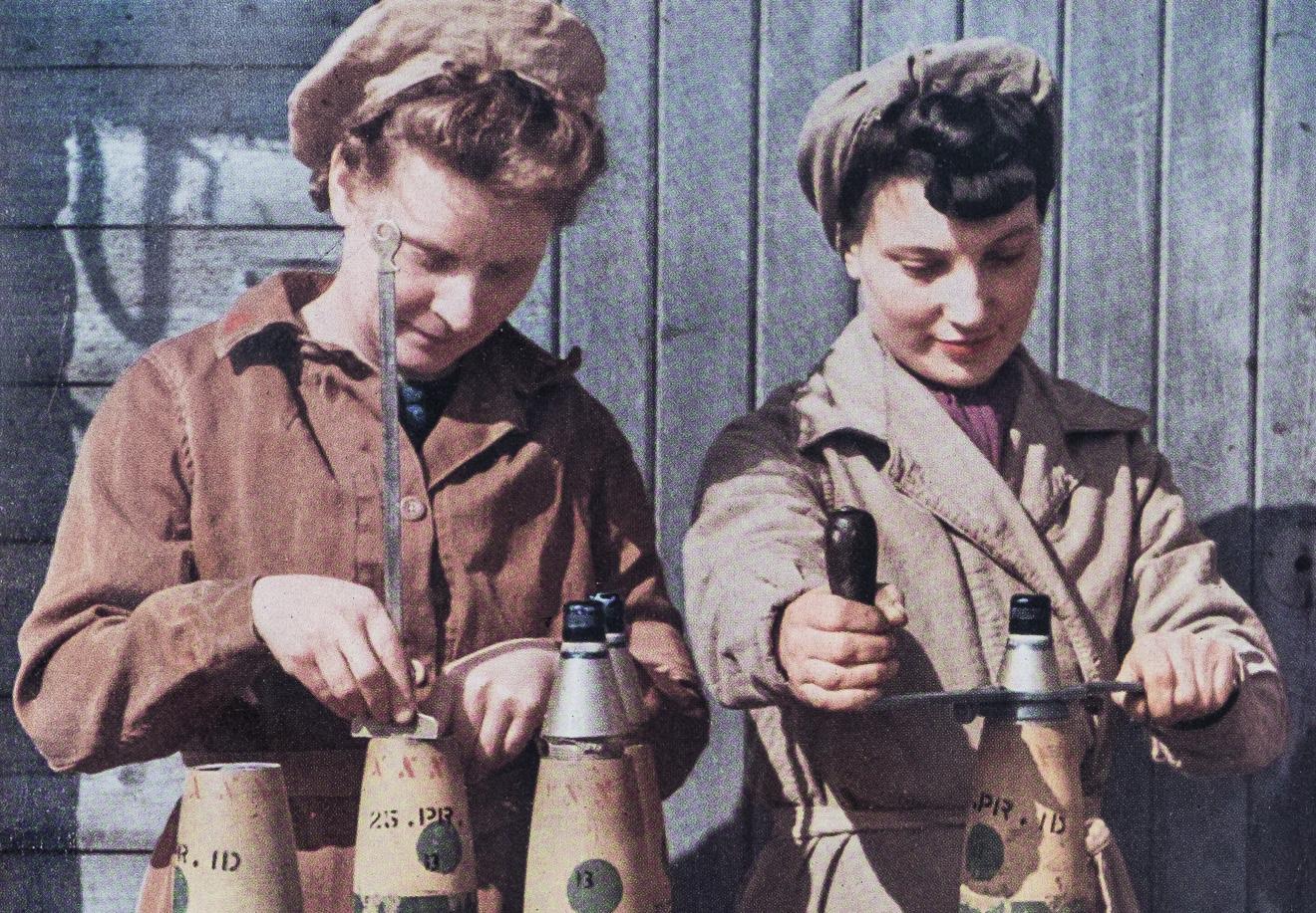 ISOTYPE Book: Priestley, British Women Go To War