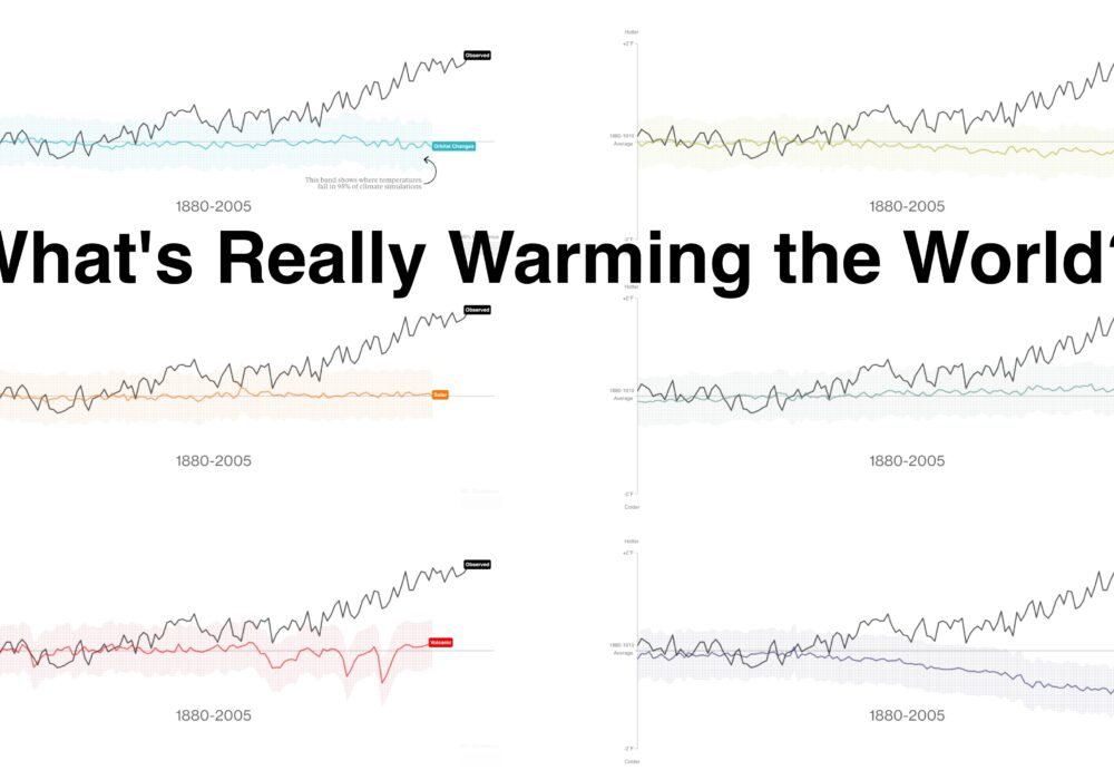 eagereyesTV: Chart Appreciation, What's Really Warming the World