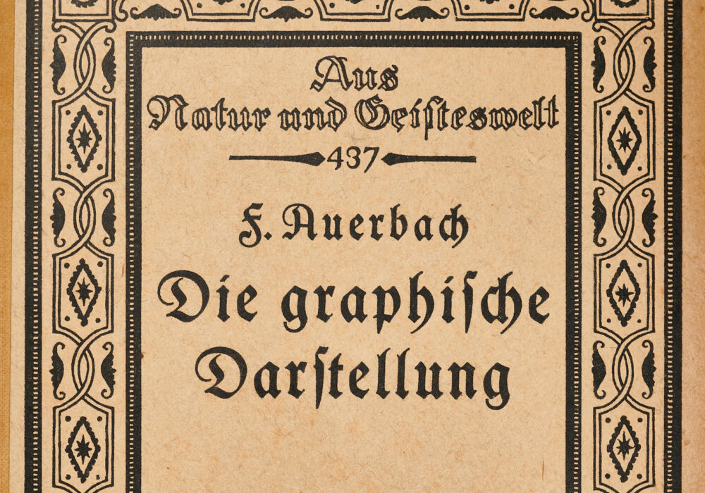 Felix Auerbach, Die Graphische Darstellung (Graphical Representation, 1914)