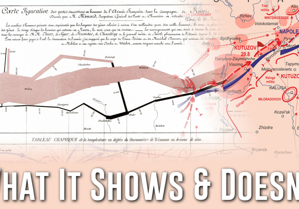 """eagereyesTV: Minard's Famous """"Napoleon's March"""" Chart – What It Shows, What It Doesn't"""